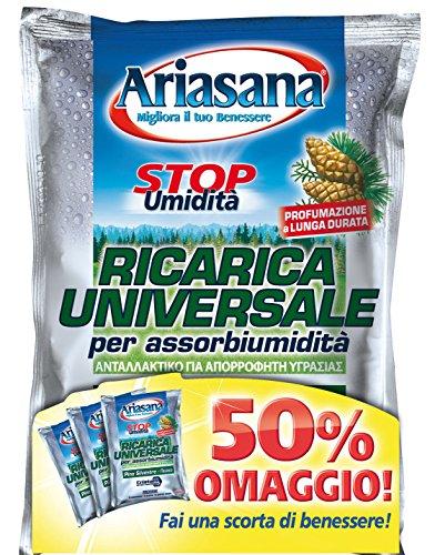 Ariasana 1815234 Ricarica Pino 3 Buste da 450 g, Impilabili