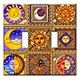 Celestials Decorative Switch Plate