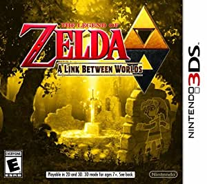 Legend  of Zelda Link Between Worlds - Nintendo 3DS