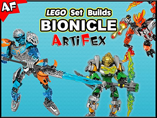 Clip: Lego Set Builds Bionicle - Season 1