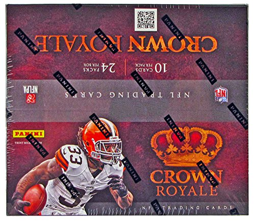 2012 Crown Royale NFL Football 24 Pack Retail Box - One Autograph or Memorabilia Card Per Box (Nfl 35 Russell Wilson compare prices)