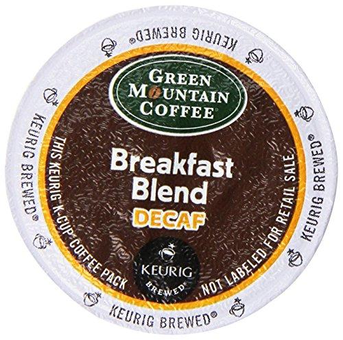 Green Mountain Coffee Decaf Light Roast Breakfast Blend, K-C
