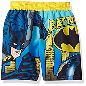 BatMan Boys' Gotham City Batmobile Swim Trunk at Gotham City Store