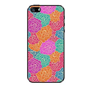 Vibhar printed case back cover for Apple iPhone 4 PencilFlower
