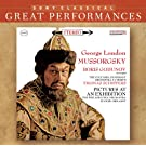 Mussorgsky: Scenes from Boris Godunov; Pictures at an Exhibition [Great Performances]