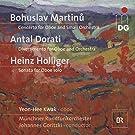 Martinu : Concerto pour hautbois, Holliger : Sonate pour hautbois, Dorati : Divertissement pour hautbois et orchestre