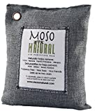 Moso Natural Air Purifying Bag 500g Charcoal Color Naturally Removes Odors, Allergens and Harmful Pollutants. Prevents Mold, Mildew And Bacteria From Forming By Absorbing Excess Moisture. Fragrance Free, Chemical Free And Non Toxic. Reuse For Up To Two Years.