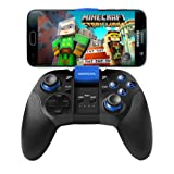Android Bluetooth Phone Controller, BEBONCOOL Bluetooth Game Controller, Bluetooth Gamepad (For Android Phone/Tablet/Samsung Gear VR/Emulator) Gear VR Gamepad Controller (Color: B07-B Blue)