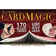 Ultimate Card Magic Kit, 170 Magic Tr…