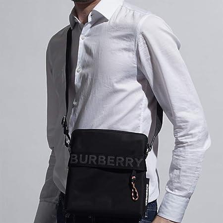 BURBERRY メッセンジャーバッグ LOGO DETAIL CROSSBODY BAG [並行輸入品]