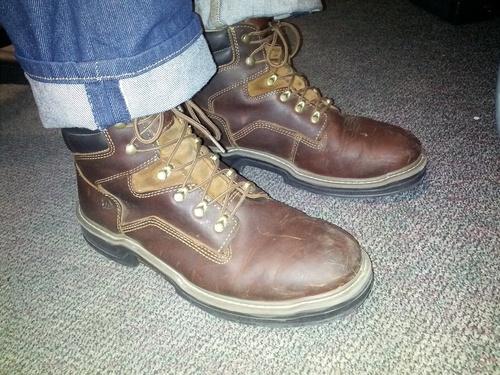 """Wolverine Men's Raider 6"""" Contour Welt Boot"""