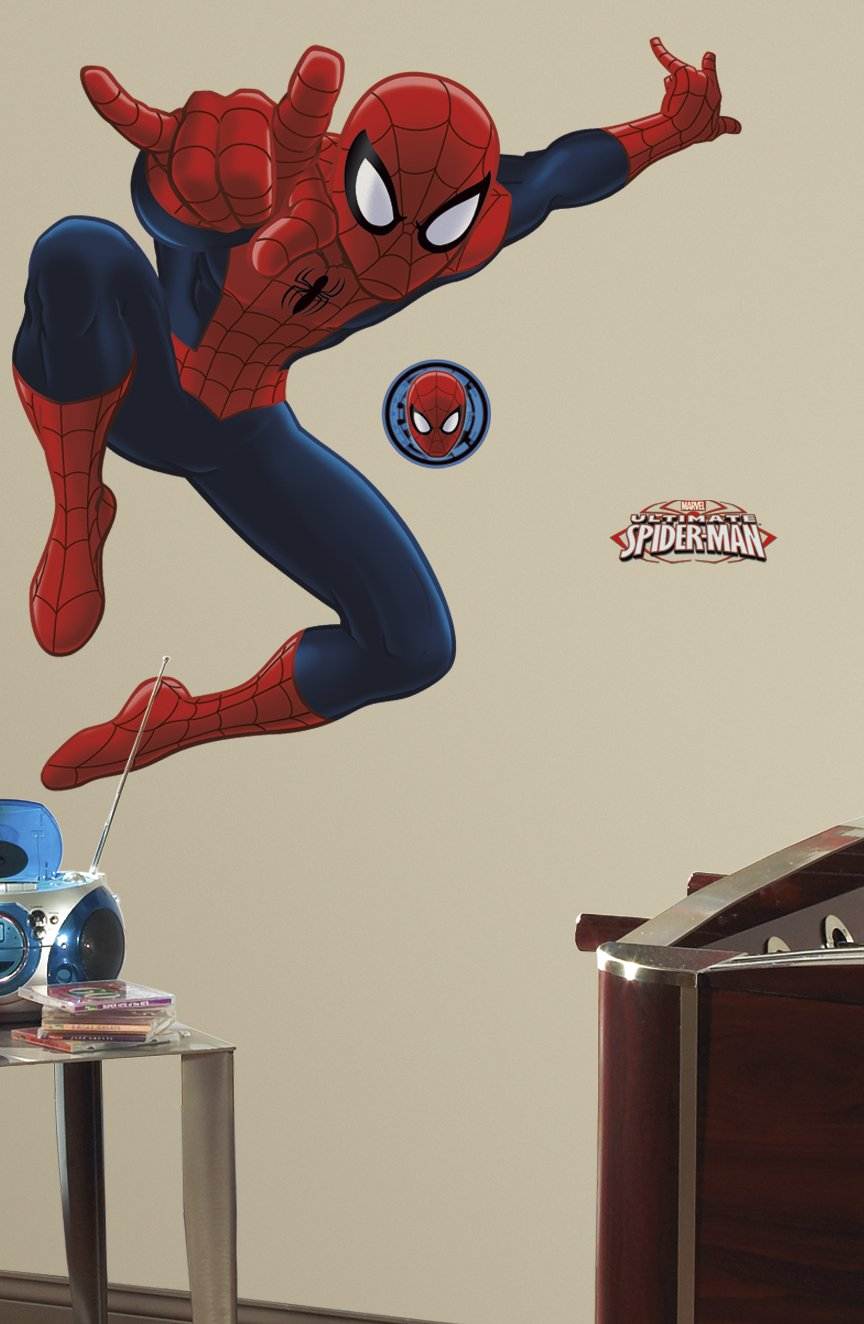 Ultimate Spiderman Peel and Stick Giant Wall Decal