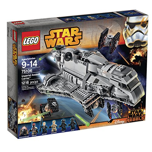 LEGO Star Wars Imperial Assault Carrier 75106 Building Kit (Star Wars Rebels Imperial compare prices)