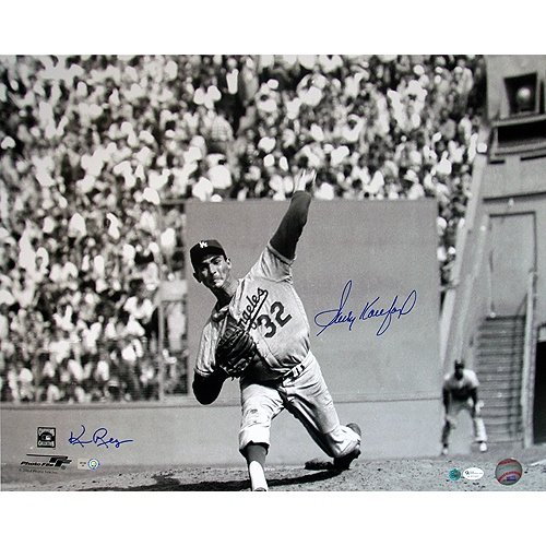 "Steiner Sports MLB Los Angeles Dodgers Sandy Koufax Baseball with ""BK to LA "" Inscription at Amazon.com"