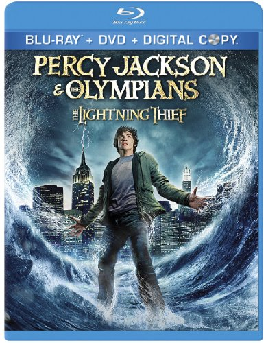 Cover art for  Percy Jackson & the Olympians: The Lightning Thief [Blu-ray]