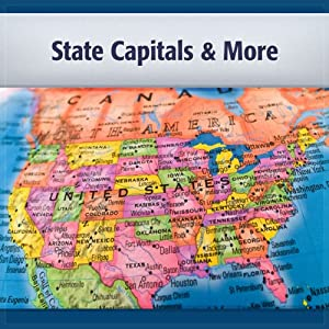 U.S. State Capitals and More Audiobook