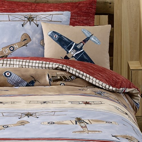 Airplane Bedding For Kids front-758403