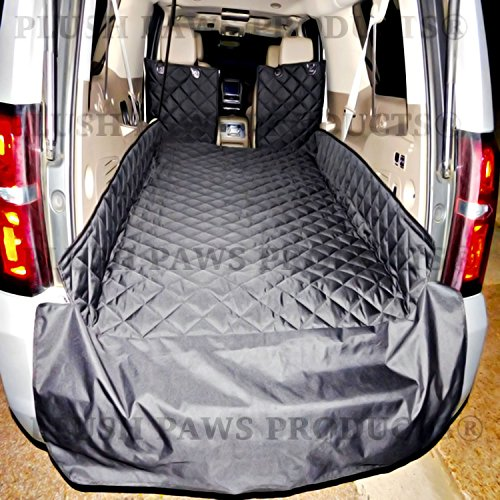 plush-paws-waterproof-cargo-liner-bumper-flap-machine-washable-durable-xl-black