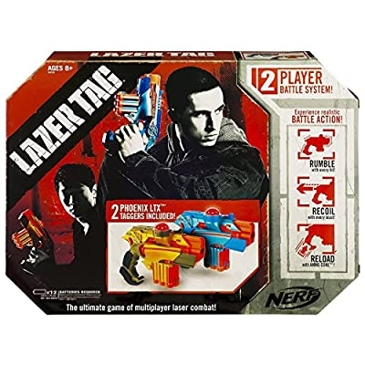 Lazer Tag Nerf Two-Player Battle System by Hasbro