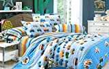 Ahmedabad Cotton Comtemporary Comfort Cotton Single Bedsheet With 1 Pillow Cover