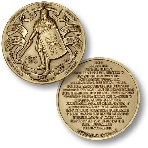 Armor of God - Spanish Version Challenge Coin