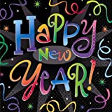 Happy New Year Countdown Celebrations 2ply Napkins - Pack of 16