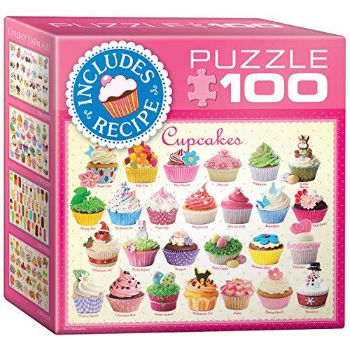 EuroGraphics Cupcakes Mini Puzzle (100-Piece)