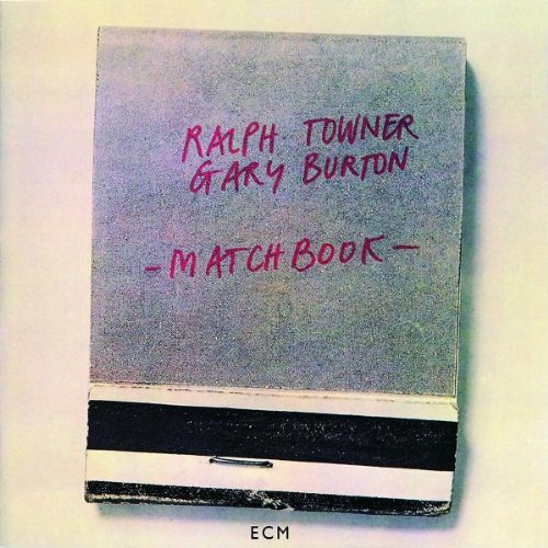 ralph towner & gary burton - matchbook (album art)