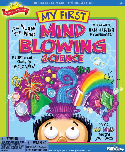 Details for POOF-Slinky 0SA221 Scientific Explorer My First Mind Blowing Science Kit, 11-Activities from Scientific Explorer