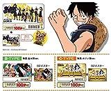 【セブンネット限定】nanacoカード ワンピース限定デザイン FILM GOLD A-B-C-TYPE3種類セット(全3種類オリジナルB2ポスター付き)