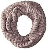 Muk Luks Women's Hollywood Ribbed Funnel Scarf