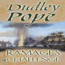 Ramage's Challenge (       UNABRIDGED) by Dudley Pope Narrated by Steven Crossley