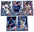 2015 Topps Baseball Cards Chicago Cubs Team Set (Series 1- 9 Cards) Including Arismendy Alcantara, Starlin Castro, Anthony Rizzo, Junior Lake, Brian Schlitter Team Card, Travis Wood, Javier Baez, Jorge Soler