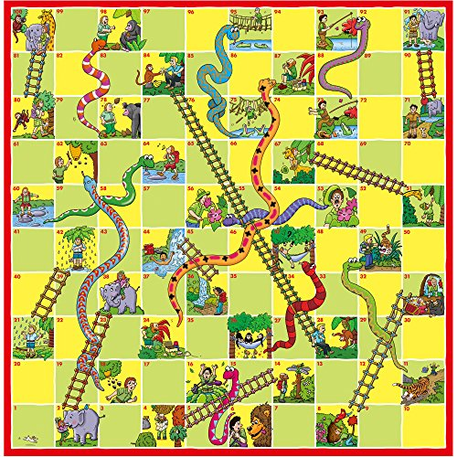 snakes and ladders instructions