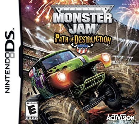 Monster Jam:Path of Dstrc DS