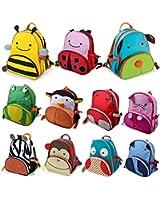 SpecialShare New Cartoon Kids Children ZOO Animal Rucksack Backpack Boy Girl baby School Bag (Dog)