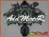 Addmotor 新品 外装キット 外装カウル GSXR1300 GSXR 1300 GSX1300R Hayabusa 隼 1996 1997 1998 1999 2000 2001 2002 2003 2004 2005 2006 2007 96-07 用 緑 黒 S3643
