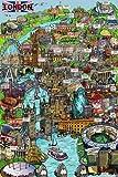 London - Sketch Poster - 91.5x61cm