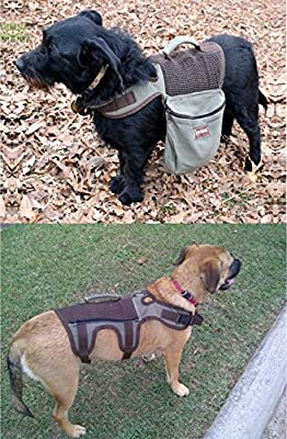 ABO Gear Aussie Naturals Dog Backpack, X-Small