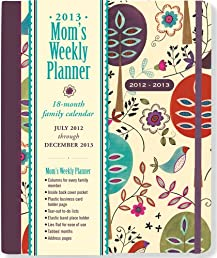 2013 Folk Art Birds Mom's Weekly Planner (18-month Calendar)