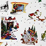 How the Grinch Stole Xmas Christmas fabric (Sold in multiples of 0.5 meter)
