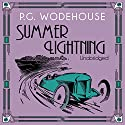 Summer Lightning Audiobook by P. G. Wodehouse Narrated by John Wells
