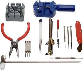 Generic 16-Pcs Watch Opener Tool Kit