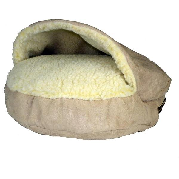 Snoozer Luxury Cozy Cave, Small, Buckskin (Color: Buckskin, Tamaño: Small)
