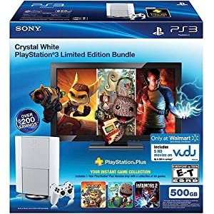 Sony PlayStation 3 500GB Limited Edition Console | White by Sony