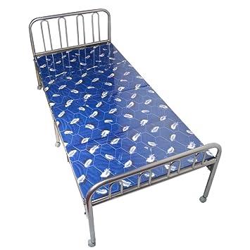 Lit pliant en métal/déjeuner pliant de lit/lit simple double d'appoint/bureau simple lit/lit nap-D