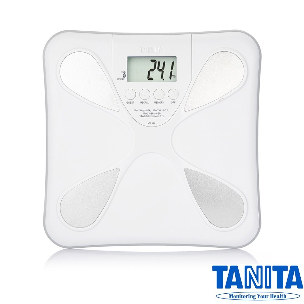 TANITA® Ultra Slim Electronic Body Composition Monitor Scale
