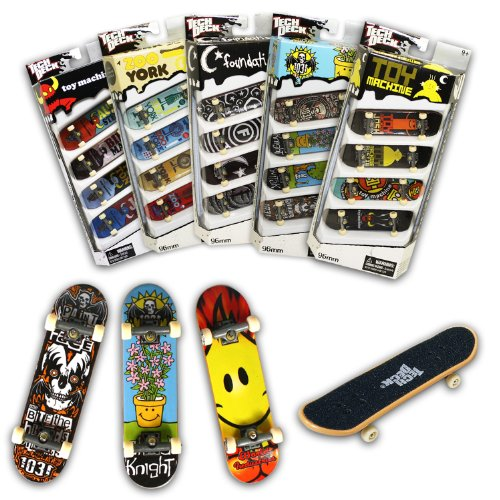 Tech Deck 96MM Fingerboards 4 Pack (Styles vary) Picture