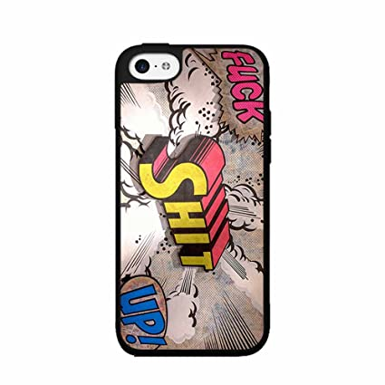 Comic Iphone 5c Case Case Back Cover Iphone 5c