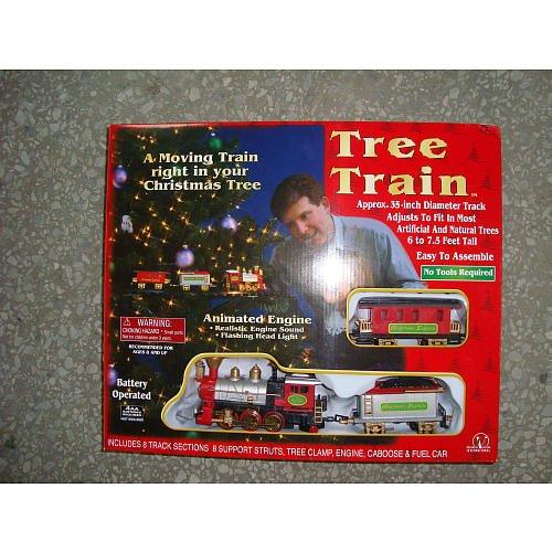 Seasonal Vision Christmas Tree Train (Model Train Smoke compare prices)
